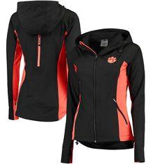 Clemson Tigers Colosseum Women's Step Out Windbreaker Jacket - Black - $47.99