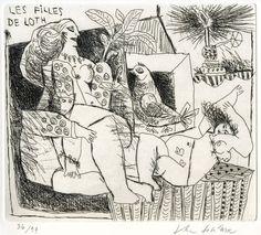 40 - Les filles de Loth by Theo Tobiasse