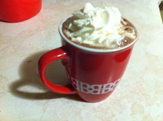Hot Chocolate and Baileys Irish Cream