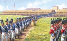 16 August 1812 - Siege of Detroit - Also known as the Surrender of Detroit, or the Battle of Fort Detroit, was an early engagement in the War of 1812. British force under Major General Isaac Brock with Native American allies under the Shawnee leader, Tecumseh, used bluff and deception to intimidate the American Brigadier General William Hull into surrendering the fort and town of Detroit, Michigan, and a dispirited army which nevertheless outnumbered the victorious British and Native…