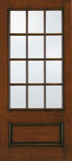 Aurora® Custom Fiberglass Glass Panel Exterior Door | JELD-WEN Doors & Windows