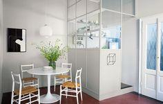 Crea una stanza nella stanza con le pareti vetrate