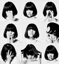bat for lashes - totally fell in love with her voice and her music Bat For Lashes, Female Of The Species, Women In Music, Dream Hair, Her Music, Madame, Bob Hairstyles, Hair Inspiration, My Hair