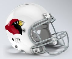 St Louis Cardinals Throwback Helmet