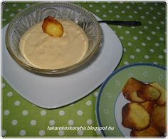 Takarékos konyha: Fokhagymás mustármártás Hungarian Recipes, Hungarian Food, Pesto, Dips, Pancakes, Pudding, Breakfast, Sauces, Morning Coffee