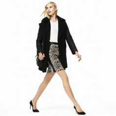 Violet Knit Pencil Skirt - Club Monaco