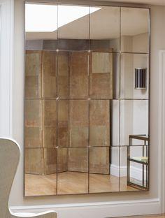 Panelled mirror | Charles Saunders