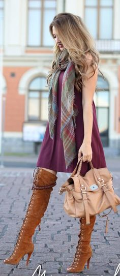 Fall Colors Outfit Idea by Mungolife Clothing CollectiveStyles.com