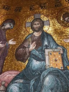 Christian Artwork, Orthodox Icons, Byzantine, Mosaic Art, Religion, Painting, Cathedrals, Christ, Jesus Painting