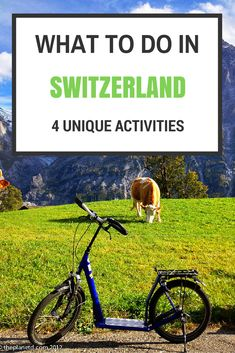 Switzerland is a modern, efficient country that is a leader in adventure travel. Here are Four Unique Things to do in Switzerland | The Planet D: Adventure Travel Blog
