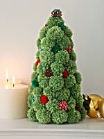 Image of <font color=red><font color=red>Pom</font></font><font color=red><font color=red>pom</font></font> Holiday Tree