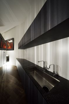 Inspiring kitchen space. There is actually very little space here, but you don't notice.