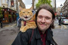 James and Street Cat Bob