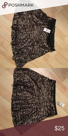 Express Sequin Mini Skirt New with tags! Great for the holidays Express Skirts Mini