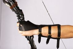 PRECIO CON DESCUENTO Medieval Archer tirar guantes con