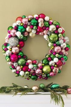 147 Best Diy Holiday Wreaths Images In 2016 Christmas Ornaments