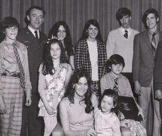 Dad's retirement ceremony 1969