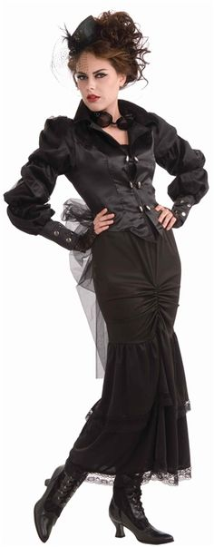 Steampunk Victorian Lady Adult Costume #steampunk #steam punk
