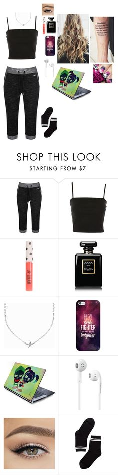 """""""Untitled #925"""" by misswinters ❤ liked on Polyvore featuring Bench, Topshop, Chanel, Minnie Grace, Casetify and Monki"""