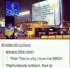 Bloody hell Sherlock