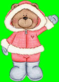 Winter Holiday Clip Art Free | Left Click to view full size