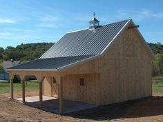 Pole Buildings With Living Quarters | Equine Pole Barns | Pole Building Construction