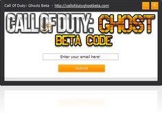 Call of Duty Ghost Beta Keys Giveaway [1 KEY = 1 IP]
