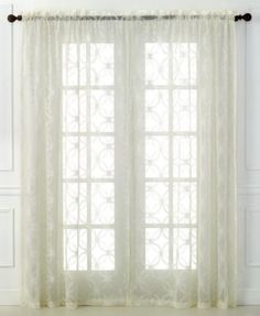 Beacon Looms Sheer Wedding Ring Window Treatment Collection