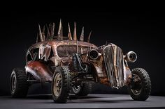 Before The Dirt Part 2 The Cars of Mad Max Fury Road on Behance Mad Max Fury Road, Cars Movie Characters, Movie Cars, New Luxury Cars, Us Cars, Zombie Apocalypse, Dieselpunk, Concept Cars, Diorama
