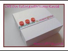 Make a gift box - #tutorial