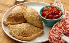 Pepperoni Pizza Pocket Recipe by Jeff Mauro