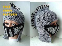 Free knights mohawk crochet pattern
