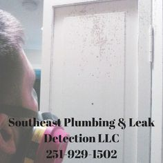 Water leaks can not only cause damage to your home it can also lead to health issues. If you suspect a leak in your home give a call anytime at 251-929-1502. #FairhopeAL #Plumbing