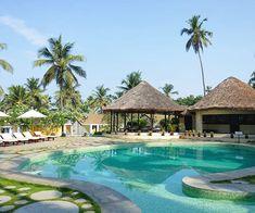 Der Swimmingpool im ruhigen Garden-Wing des Resorts #taipantouristik #indien #kerala #kovalam #soschön #pool #sonne #urlaubstracker #wanderlust #reiseblogger #immereinereisewert #urlaubsreif #entspannung Kovalam, Strand, Wanderlust, Outdoor Decor, Home Decor, Indian, Longing For You, Sun, Nice Asses