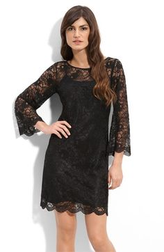 Laundry by Shelli Segal Lace Shift Dress | Nordstrom - StyleSays