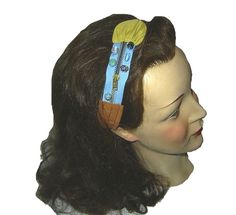 Turmkunst Haarband Dieses Haarband wurde für die Aktion KunstRaub gefertigt  Inspirationsquelle war der KuchlbauerTurm in Abensberg  http://de....
