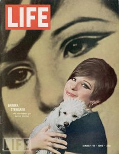 In 1966, singer/actress Barbra Streisand appeared with her beloved pet on the cover of LIFE Magazine.