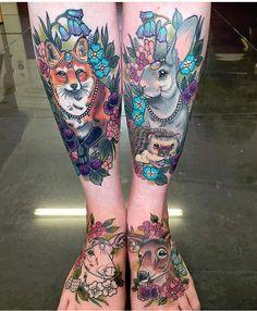 Incredible legs by Ashley Luka