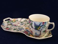 Royal Tudor Ware Tennis Set Lorna Doone Pattern