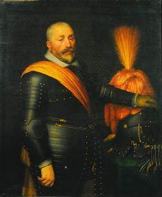 Jan Anthonisz. van Ravesteyn (and studio), Portrait of an Officer, 1612 - Mauritshuis The Hague