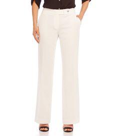 Calvin Klein Classic Fit FlareLeg Pants #Dillards
