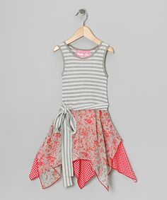 Gray Wendy Handkerchief Dress - Toddler & Girls by Wonder Me on #zulily #cutiestyle