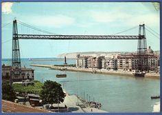 """126: """"PORTUGALETE (Vizcaya). Puente de Vizcaya"""""""