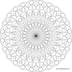 simple mandala to color, also available in a larger transparent PNG format. I want to color one! Adult Coloring Book Pages, Mandala Coloring Pages, Free Coloring Pages, Printable Coloring Pages, Coloring Books, Simple Mandala, Geometric Mandala, Mandala Drawing, Mandala Art
