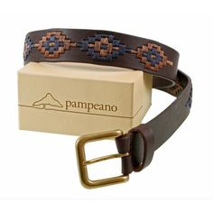 Pampeano s Luxury Hand Stitched Polo Belt - Higo is Hand stitched and made with the finest vegetable tanned leather in Argentina With tough Brass