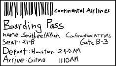 Free Printable Airline Ticket Invitation Template Regarding Fake Ticket Invitation, Invitations, Boarding Pass Template, Ticket Template Free, Airline Tickets, Templates, Free Printable, Badge, Parents