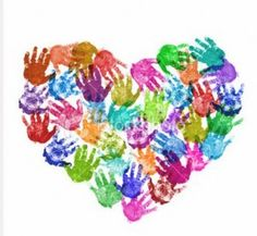 Hand print art, use your families hand prints to make an awesome picture for your household :) (maybe even add a few doggy prints)