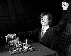 1958: Bobby Fischer wins US Chess Championship at age 14