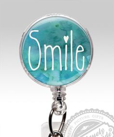 Smile Name Badge Reel