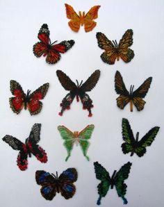 11 Asian Lepidopteras Bead Patterns!